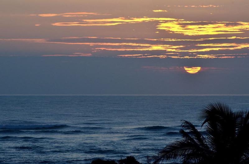 Sunrise over Lydgate Park, Kapaa. Kauai