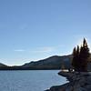 Tenaya Lake at sunset<br /> <br /> Tioga Road, Yosemite