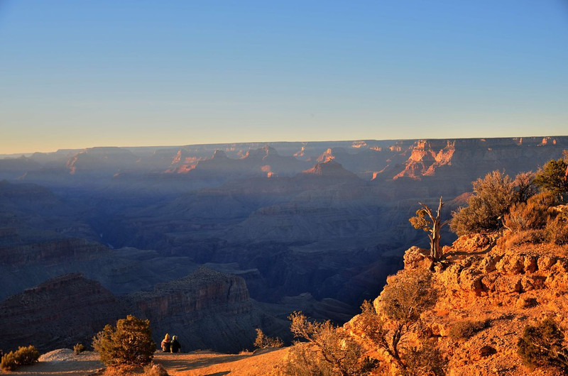 Grandview Point at sunset<br /> Grand Canyon