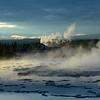 Great Fountain Geyser,<br /> Firehole Lake Drive,<br /> Yellowstone