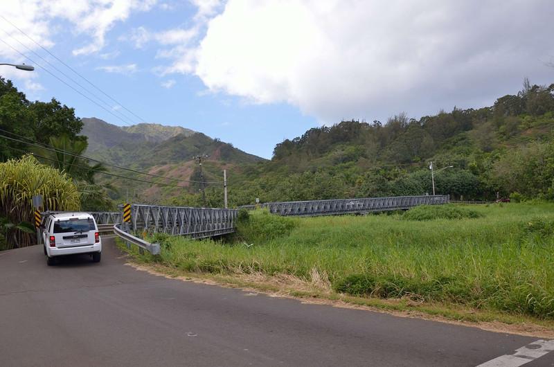 Another of the single lane bridges north of Hanalei<br /> <br /> Kuhio Highway <br /> Kauai