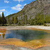 Emerald Pool,Black Sand Basin<br /> Yellowstone