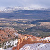 The Aquarius Plateau from Bryce Canyon National Park