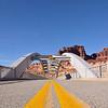 The Hite Crossing Bridge spanning the Colorado River<br /> Utah State Route 95