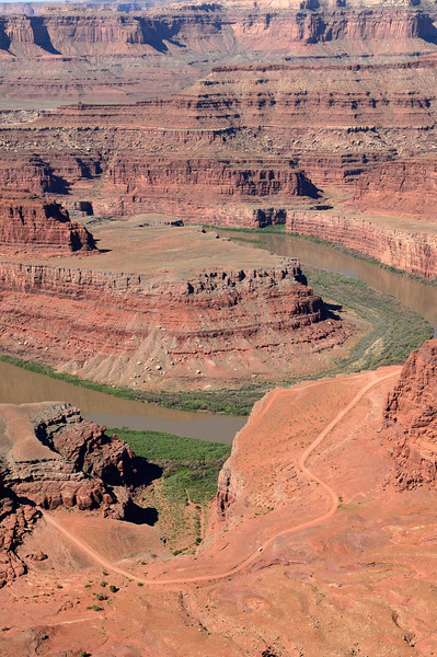 Deadhorse Point and Whte Rim trail<br /> Canyonlands, Utah