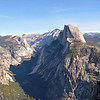 Half Dome  from Glacier Point<br /> Yosemite National Park