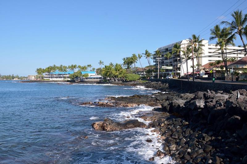 Kona village seafront<br /> Hawaii