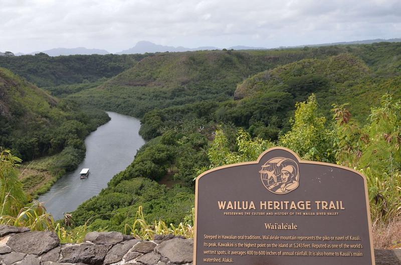 Wailua River overlook<br />  Wailua, Kauai