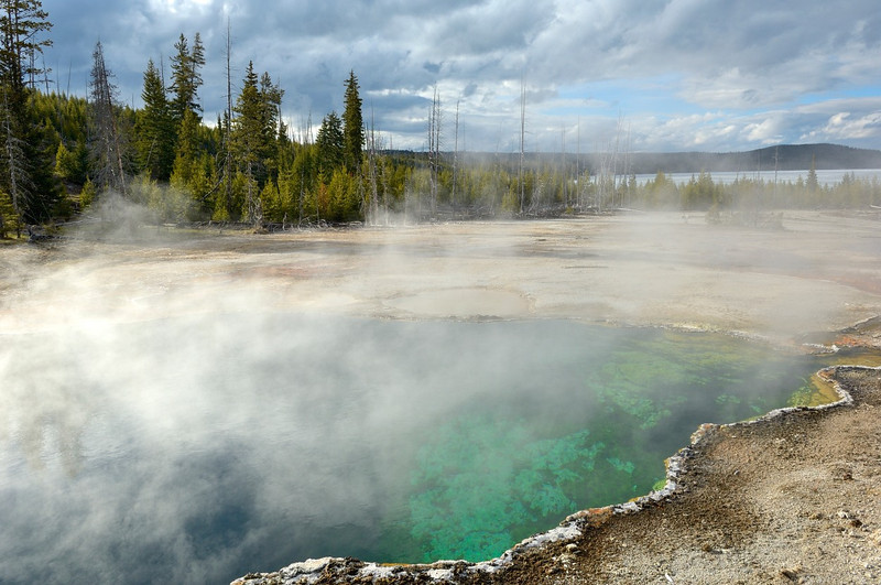 West Thumb Geyser Basin<br /> Yellowstone
