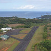 Descending into Princeville airport<br /> Kauai