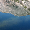 Mirror image on Tenaya Lake<br /> Tioga Road,Yosemite<br /> <br /> Look closely to see the submerged logs