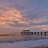 Sunset at Waimea State Recreation Pier<br />  Waimea, Kauai