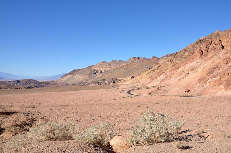Artist Drive <br /> Death Valley