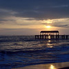 Sunset at Waimea State Recreation Pier<br />  Waimea, Kauai