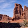 The Organ, Courthouse Towers<br /> Arches National Park