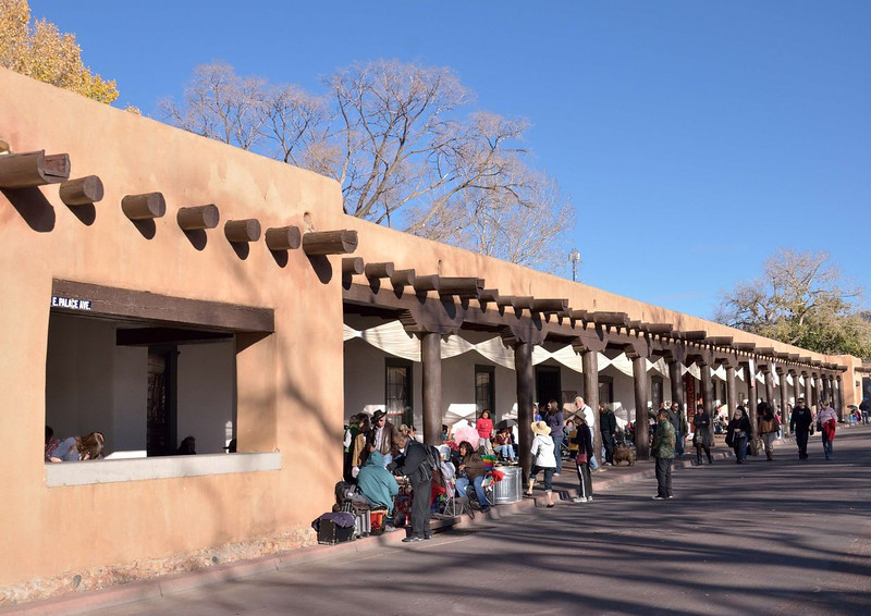 Artist market,<br /> Palace of the Governors<br /> Santa Fe