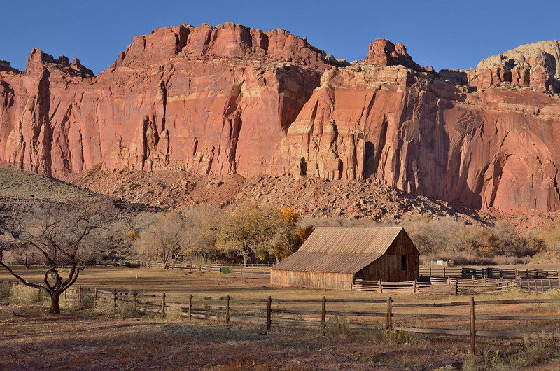 Gifford Homestead Barn<br /> <br /> Capitol Reef National Park