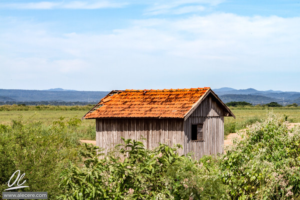Shed in the valley