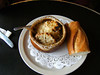 French Onion Soup at a french bakery