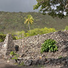 Hikiau Heiau on Kealakekua Bay <br /> Hawaii