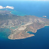 Southern Oahu<br /> On the left is Hawaii Kai. The horseshoe shaped bay is Hanauma Bay with Koko Head to the right.<br /> The further most point is Makapu'u and beyond to Waimanalo on the east coast