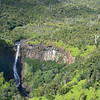 "The top of Kahili Falls (""Five Sisters Falls"")<br /> Kauai"