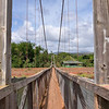 The Swinging Bridge,<br />  Hanapepe, Kauai