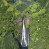 Manawaiopuna Falls, better known as 'Jurassic Falls' after it featured in the movie Jurassic Park.
