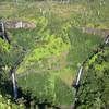 "Kahili Falls (""Five Sisters Falls"")<br /> Kauai"