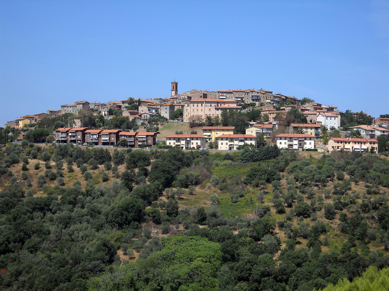 Hill Town on Drive to Florence