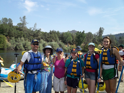 American River South Fork rafting 2011