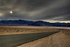 Panamint mountain range through the Death Valley National Park.