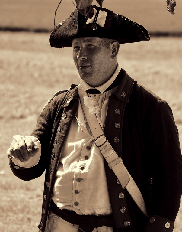 American Village United States Revolutionary War Soldier