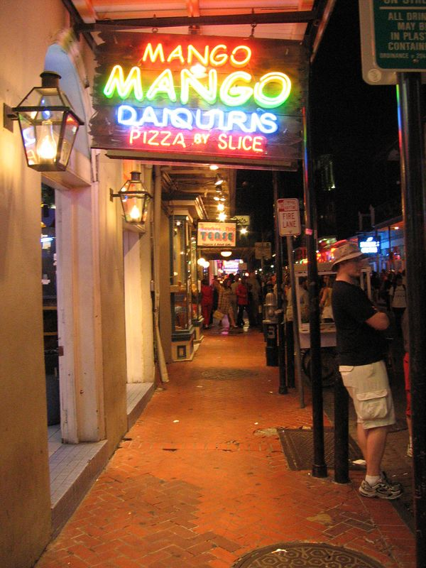Mango Daquaris in New Orleans, Louisiana
