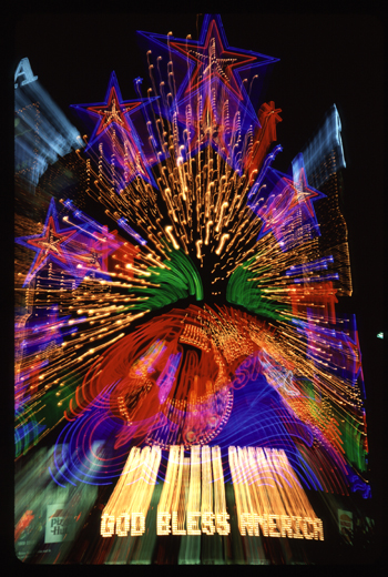 God Bless America Zoom after Sept 11th 2001 Las Vegas, Nevada
