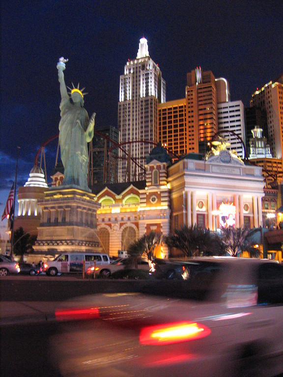 New York New York in Las Vegas, Nevada