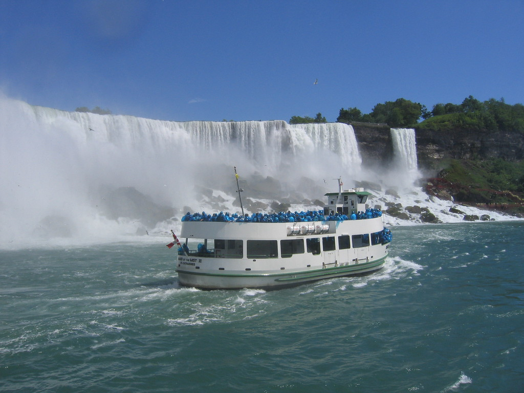Niagara Falls Maid on the Mist boat ride