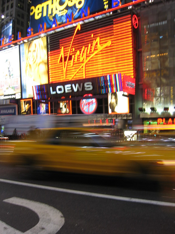 Times Square Virgin store, New York City