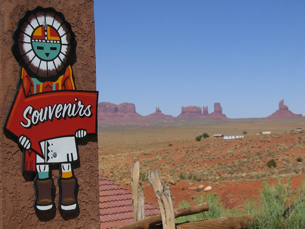 Monument Valley souvenir Kachina, Arizona and Utah