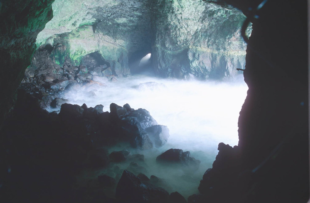 Sea cave, Oregon Coast