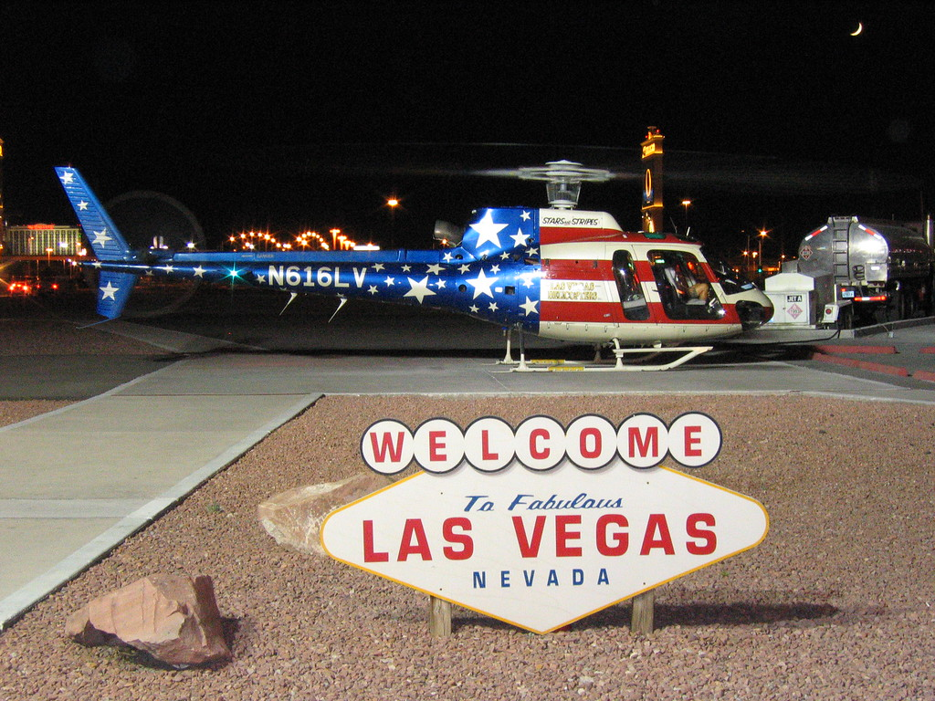Las Vegas Strip Helicopter in Nevada