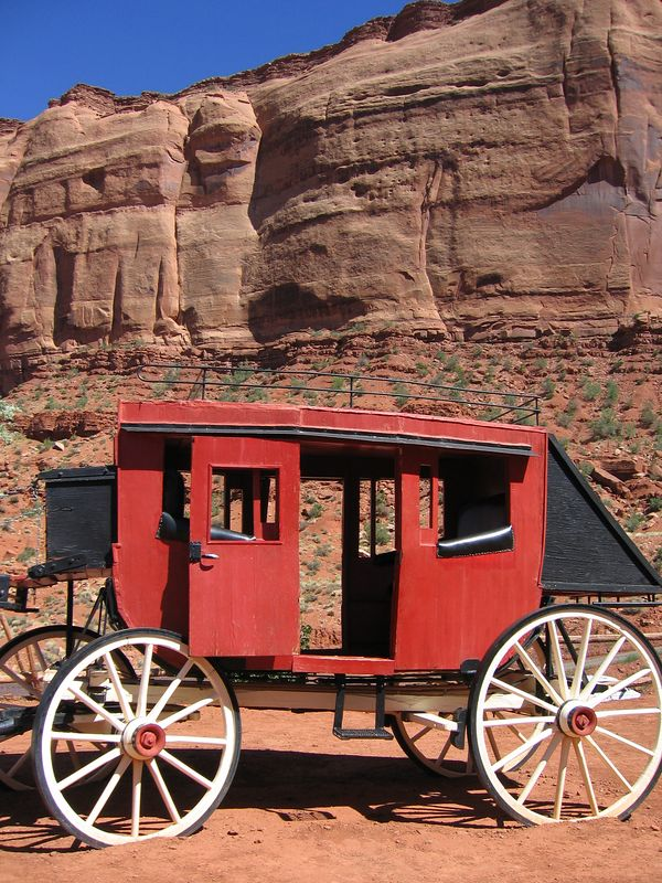 Monument Valley wagon, Arizona and Utah