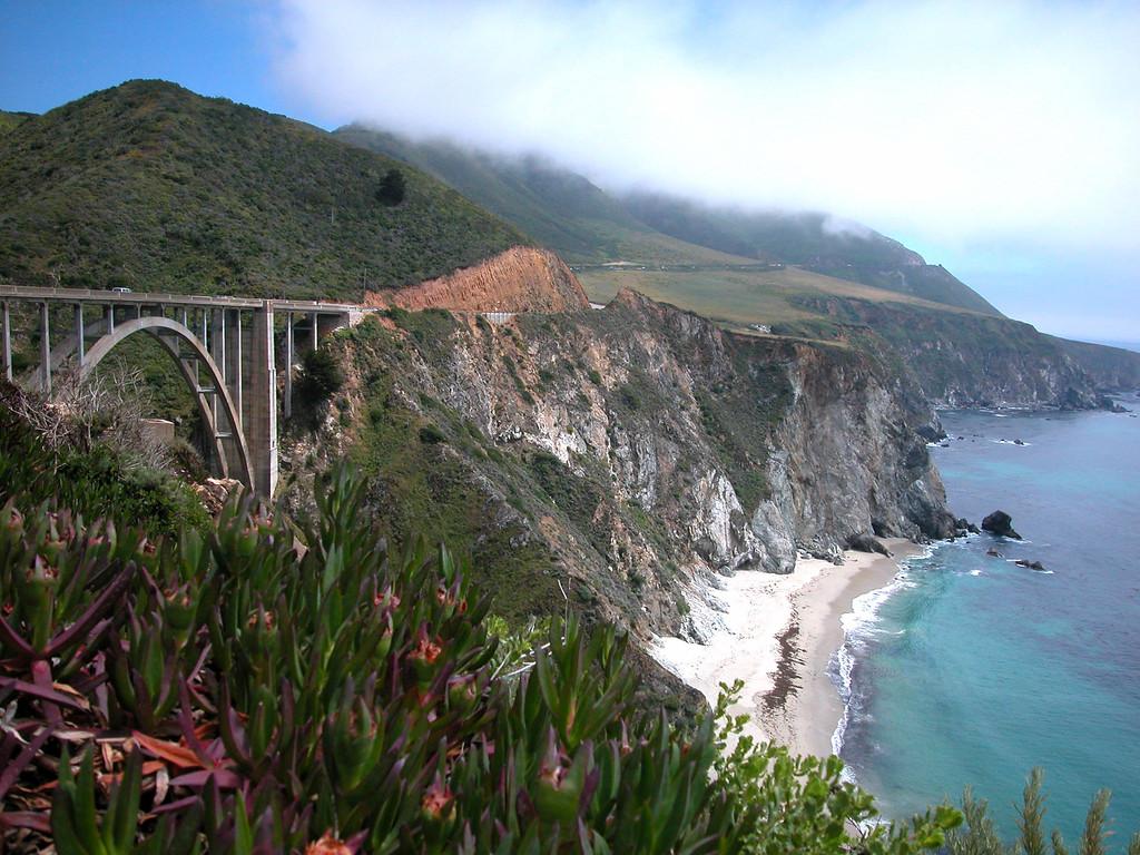 Big Sur Bridge, California
