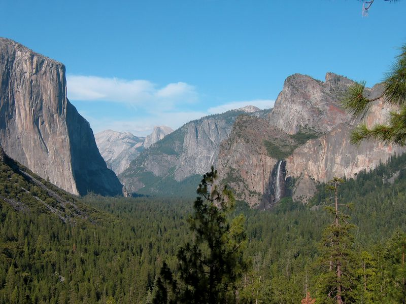 Yosemite Valley viewpoint, California