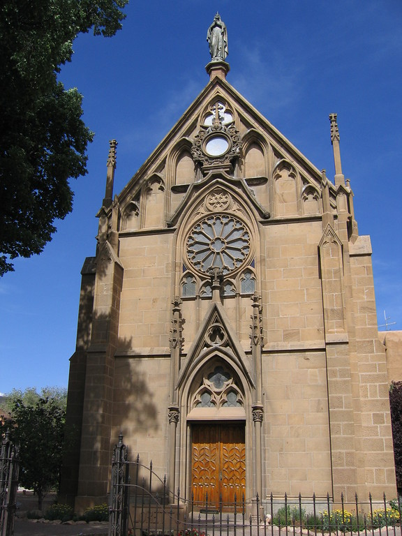 St Francis church in Santa Fe, New Mexico