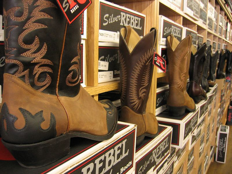Cowboy boots in Nashville, Tennessee