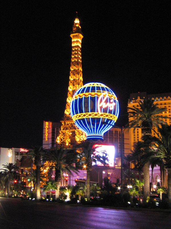 Paris and Eiffel Tower Las Vegas, Nevada
