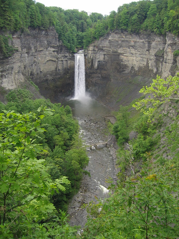 Taughannock Falls- Tallest waterfall on east coast USA vertical