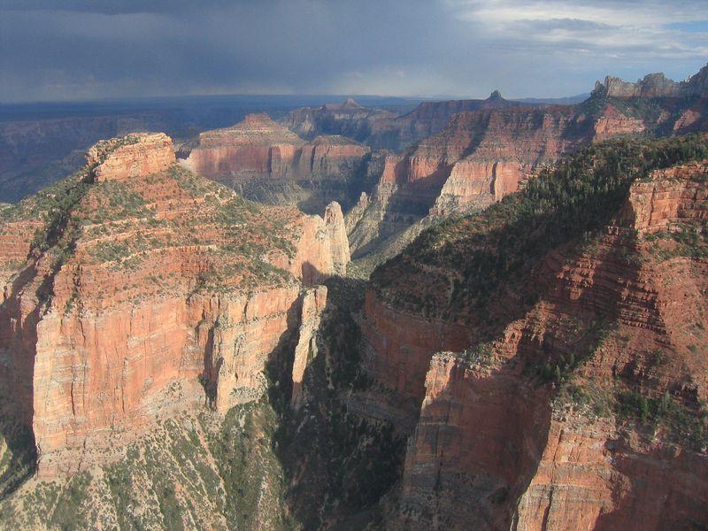 Flight over the Grand Canyon, Arizona