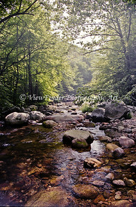 Creek at Crabtree Falls, Blue Ridge Parkway